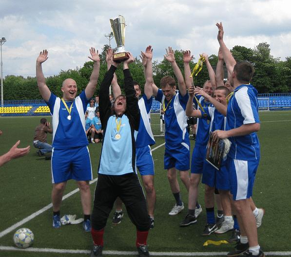 FC «Корпорация Галактика» — чемпион IT-Molison Cup'13!