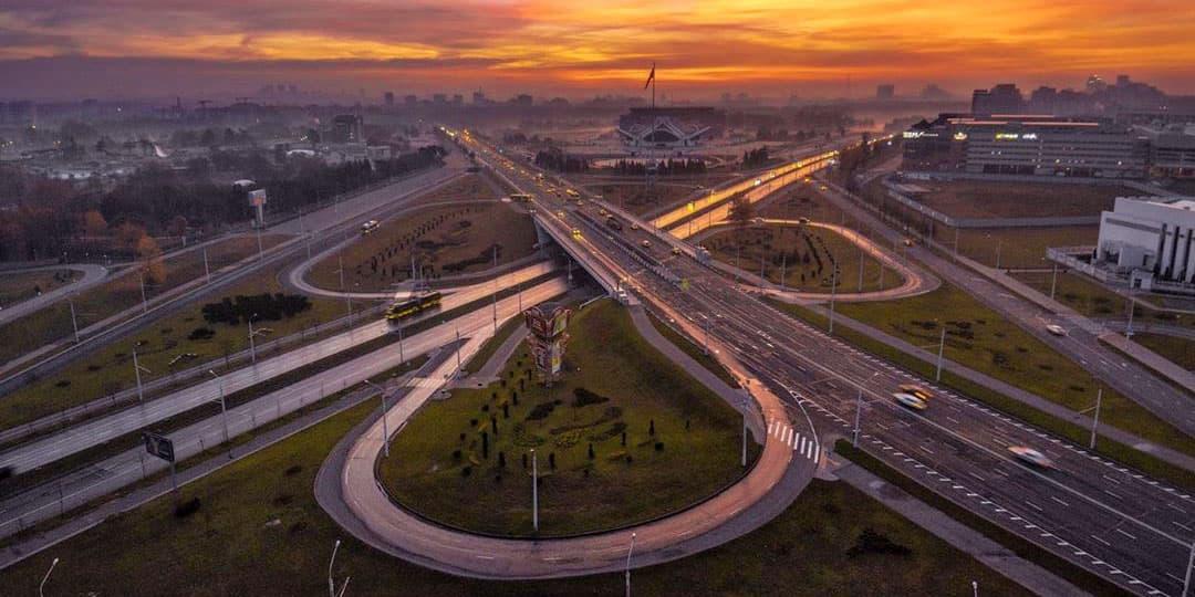 Современные транспортные развязки для Минска